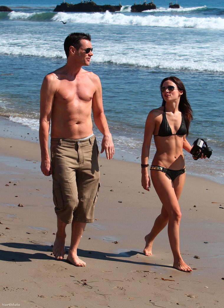 A pár 2012-ben, megismerkedésük évében