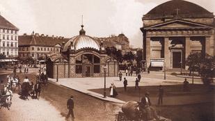 Menő volt a Deák téren a földalatti megállója 1896-ban