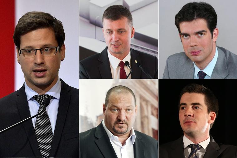 Gulyás gergely, Kubatov Gábor, Gyürk András, Németh Szilárd és Kocsis Máté a jelöltek között