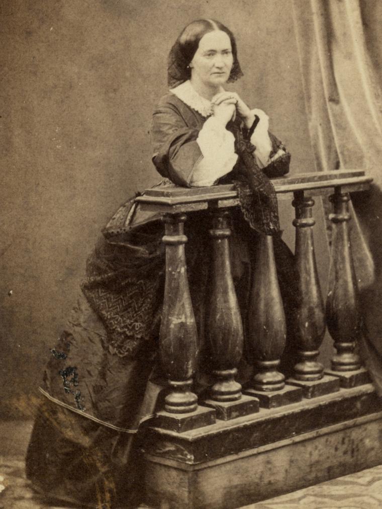Károlyi Györgyné Zichy Carolyna, 1860-as évek