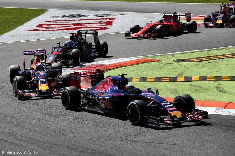 Toro Rosso, Red Bull, McLaren-Honda, Ferrari - semelyik semelyiknek