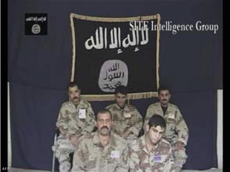 Ezt a felvételt 2007-ben az Iraki Iszlám Állam készítette 5 foglyul ejtett iraki katonáról.