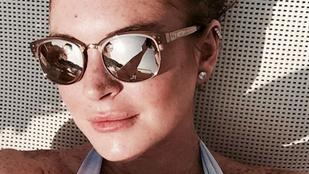 Lindsay Lohan 19 éve után visszatért Svájcba