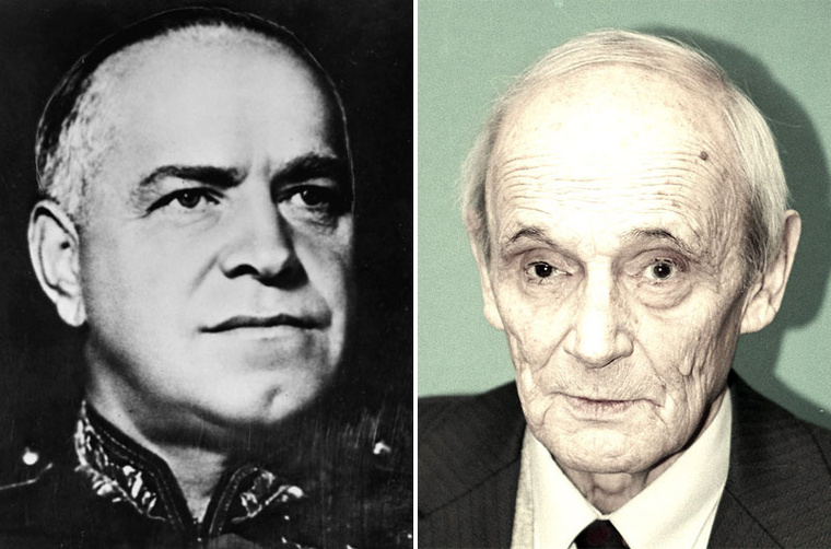 Georgij Konsztantyinovics Zsukov és Gennagyij Zsukov