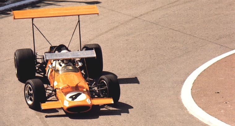 Saját csapata autójában az 1969-es Monacói Nagydíjon