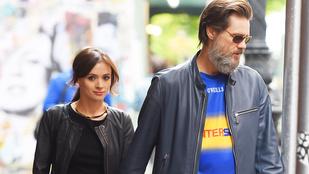 Jim Carrey exnője férjnél volt a halálakor
