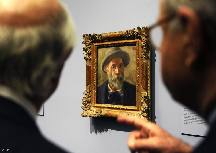 Pierre Auguste Renoir: Önarckép