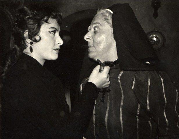 Berek Kati és Gobbi Hilda – Lorca: Bernarda Alba háza, Katona József Színház, 1955