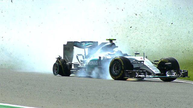 Rosberg defektje Spában