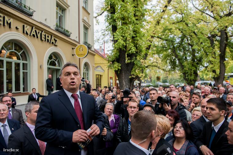 Orbán Viktor Makón