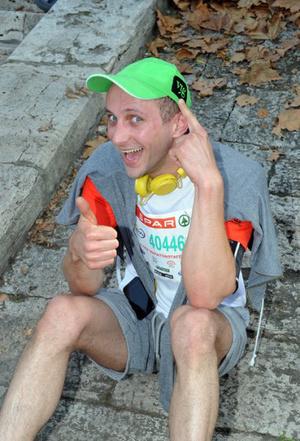 Józan László a SPAR Maratonon
