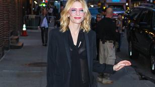 Cate Blanchett átlátszó blúza váratlan, de telitalálat