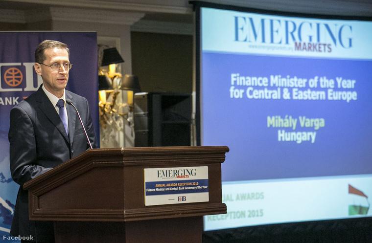 Az év pénzügyminisztere