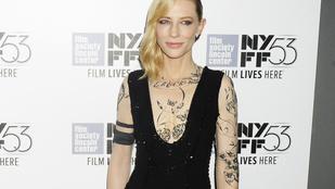 Most megnézheti teljesen széttetoválva a mindig decens Cate Blanchettet