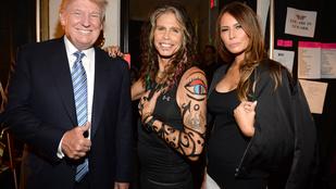Steven Tyler most aztán nekimegy Donald Trumpnak
