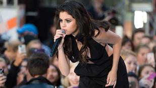 Selena Gomez mellei majdnem a rajongók közé estek