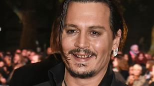 Nem hiszi el, milyen gusztustalan Johnny Depp fogsora
