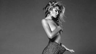 Gigi Hadid azért az egyik legkeresettebb modell, mert így néz ki póló nélkül