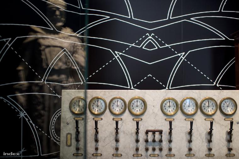 A titokzatos központi óraszerkezet