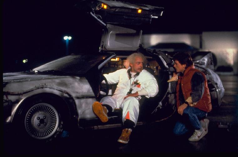 Cristopher Lloyd, Michael J. Fox és a jó öreg DeLorean