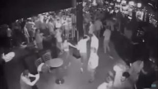 Videón a bunyó a diszkóban: egyetlen ütéssel kómába küldte
