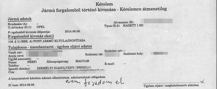 Totalcar Magazin A Magyar Auto Nyilvantartas Kudarca