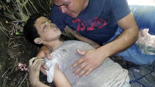 3 nap után talált rá apja haldokló fiára, akit azért dobtak le egy hídról, mert nem akart ölni