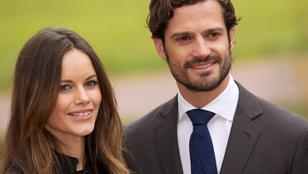 A svéd Sofia hercegné első gyermekét várja