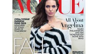 Angelina Jolie nagyon dögös és családos a Vogue magazinban