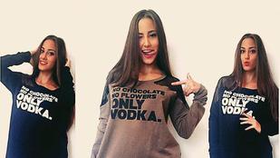 Vajna Tímea húgának már csak a vodka kell