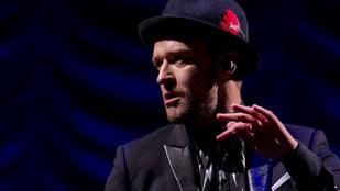 Justin Timberlake megint nyilvánosan vallott szerelmet a feleségének