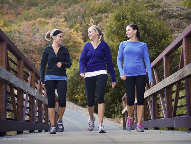 séta vagy kocogás a fogyás érdekében