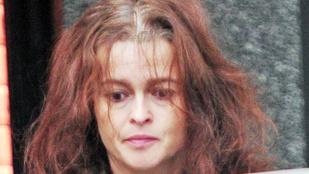 Ez nagyon szomorú, de Helena Bonham Carter kopaszodik