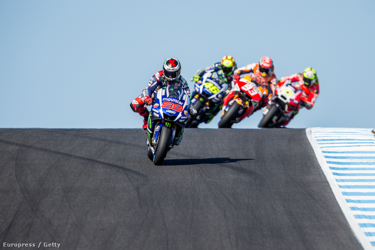 Lorenzo, Marquez, Rossi, Iannone