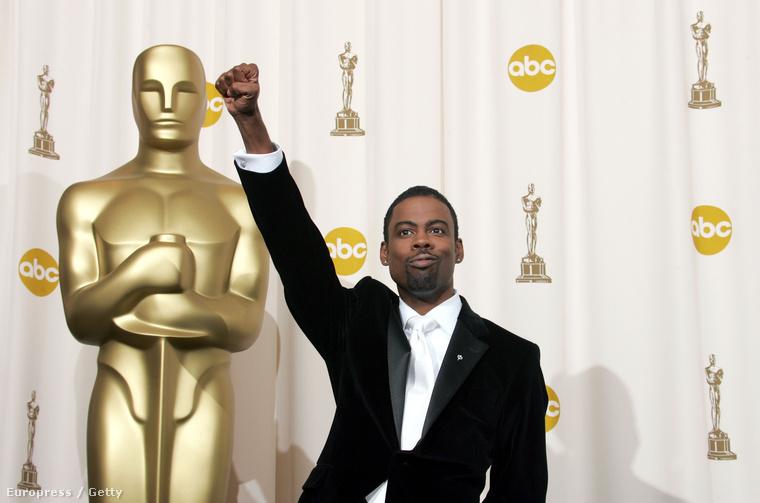 Chris Rock a 2005-ös Oscar-gálán