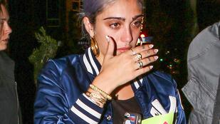 Madonna 19 éves lánya kisírt szemekkel távozott szülinapi bulijából
