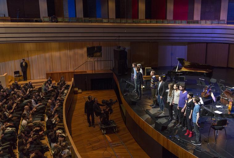 Jonny Greenwood és a London Contemporary Orchestra