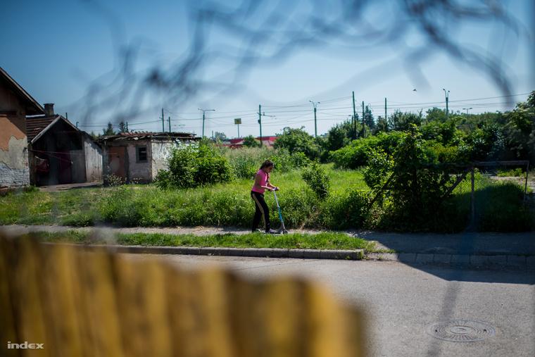 Utcakép a miskolci számozott utcákból.