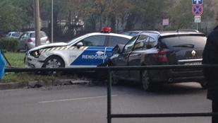 Rommá törték ismét a rendőrök Audiját