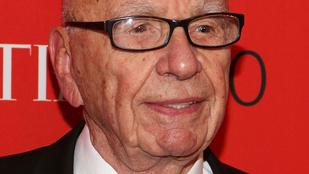 Mick Jagger exnője a 84 éves Rupert Murdochkal randizik