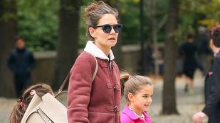 Katie Holmes lánya tiszta anyja