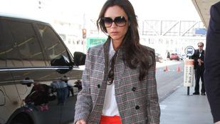 Na de hová tűnt Victoria Beckham lábfeje?