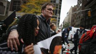 Tarantino kiborította a New York-i rendőröket