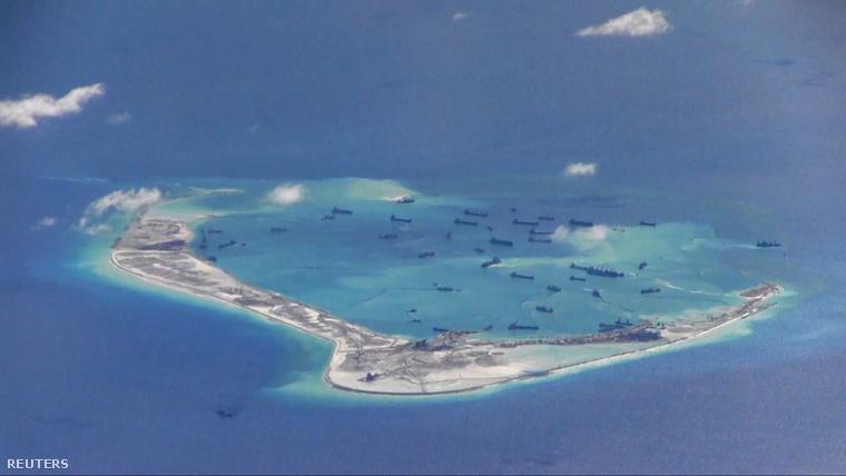 Spratly-szigetek a Dél-kínai-tengeren