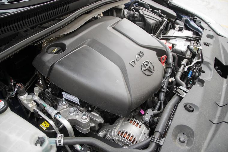 Hiába írják rá, hogy D-4D, igazából BMW-motor