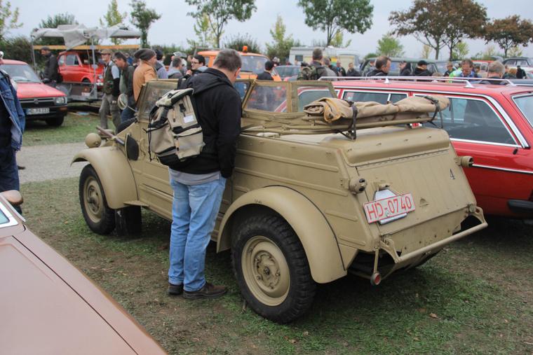 A második világháborús Kübelwagen a hetvenes évek közepén már hivatalosan is veteránnak számíthatott