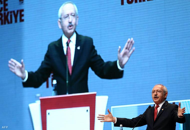 Kemal Kilicdaroglu a CHP vezetője.