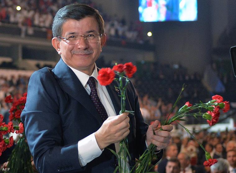 Ahmet Davutoglu, török miniszterelnök.