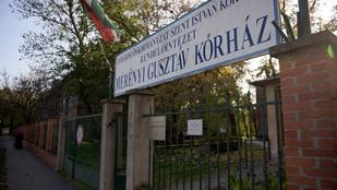 Egy órát sem volt a Merényiben a meggyilkolt beteg