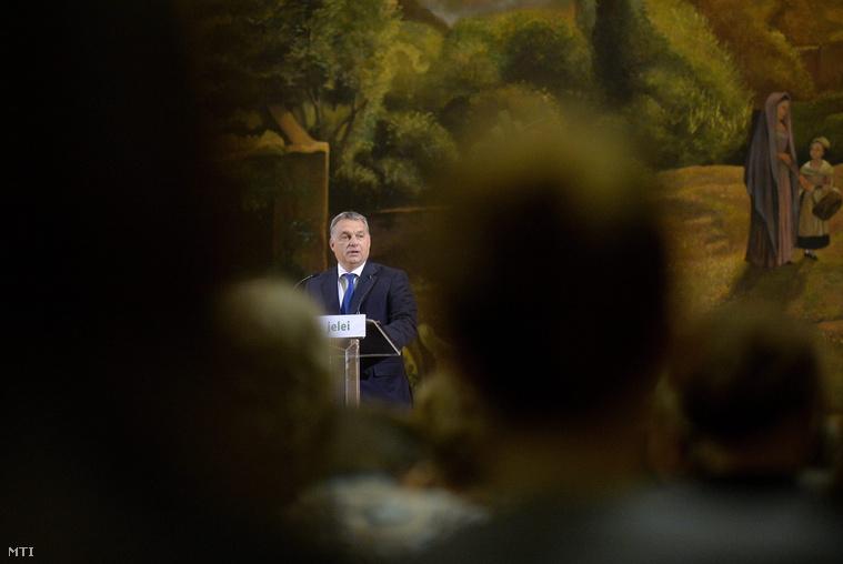 Orbán Viktor Az idők jelei konferencián 2015. október 30-án.